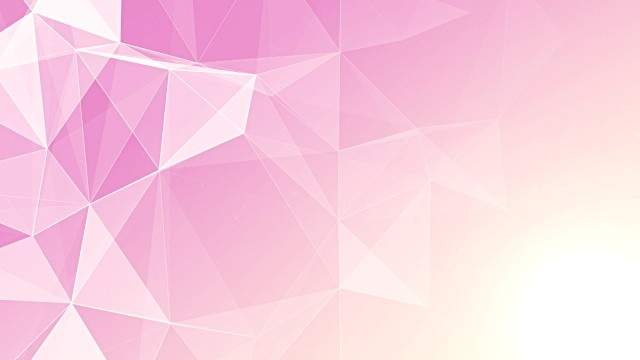 Abstract Geometric Triangles Pink Footage