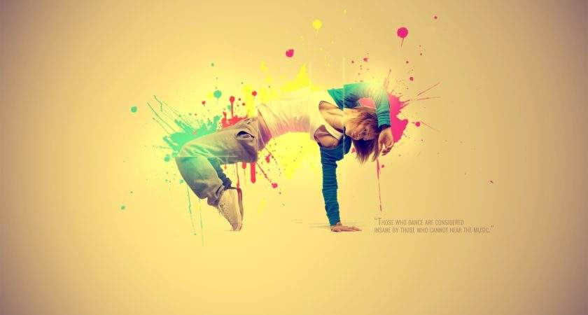 Abstract Multicolor Quotes Dancing Colors Dance