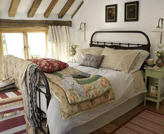 Achieve Country Style Bedroom Thehomebarn