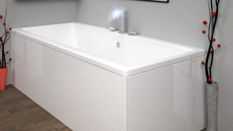 Acrylic Bath Panel White Buy Bathroom City