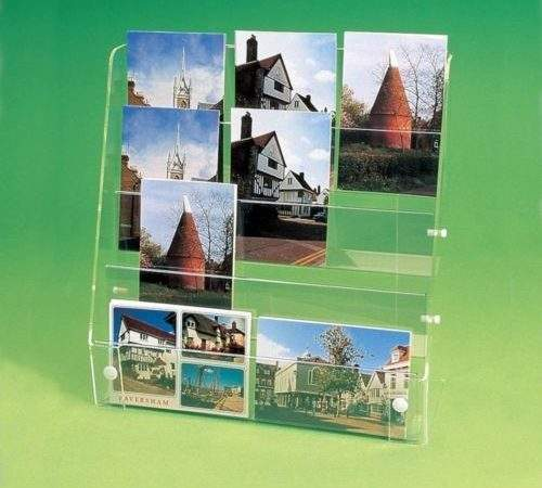 Acrylic Postcard Display Stand Retail Shop Gift Pos Point