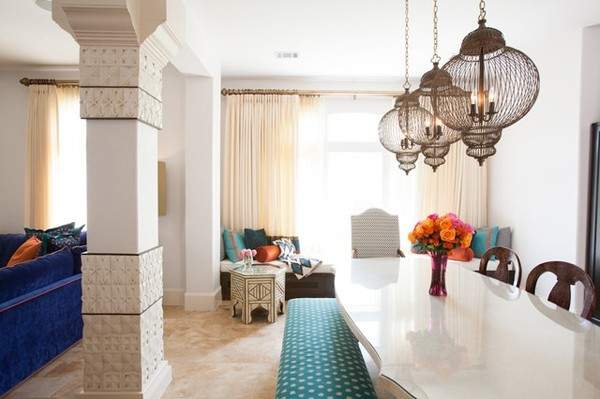 Add Eastern Spices Your Living Room Interior