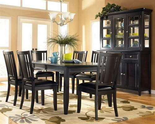 Aesthetic Dark Wood Furniture Stylish Home