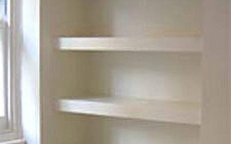 Alcove Cupboard Shelves Carpentry Joinery Job