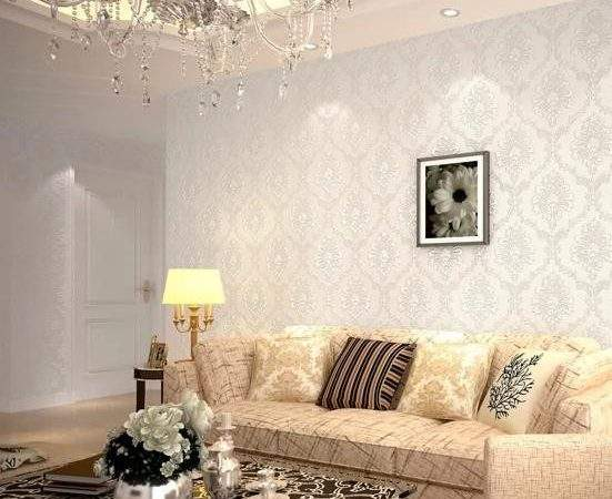 Aliexpress Buy Modern Damask Feature Wall