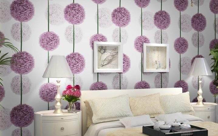 Aliexpress Buy Purple Flower Modern Pvc