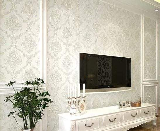 Aliexpresscom Buy Modern Damask Feature Wall