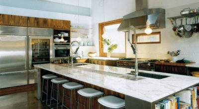 All White Dream Kitchen Elle Decor Made Girl