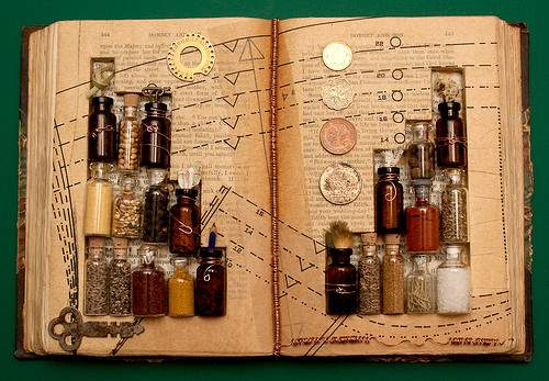 Altered Book Alchemy Existence
