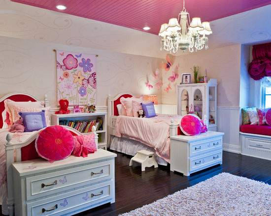 Amazing Girl Bedroom Color Beautiful Homes Design
