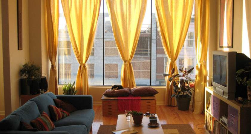Amazing New Modern Curtain Small Living Room Design