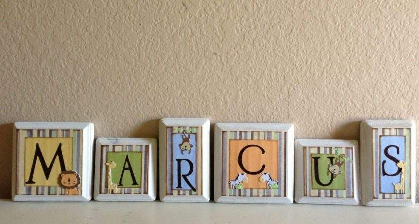 Amazing Nursery Wall Decor Letters Editeestrela Design