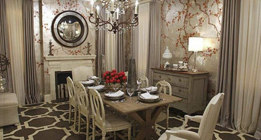 Antique Dining Room Ideas Earthy Hues