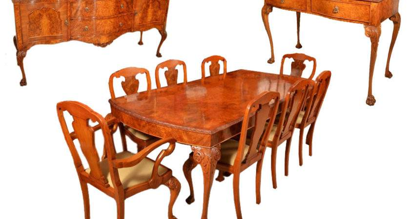 Antique Dining Table Chairs Marceladick