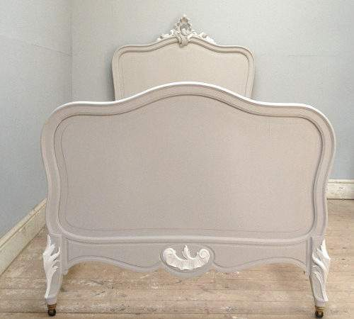 Antique French Rococo Large Single Beds