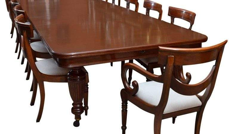 Antique Victorian Dining Table Chairs Stdibs