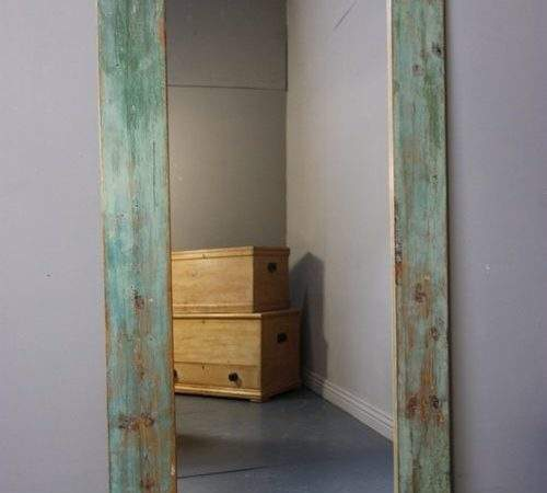 Antiques Atlas Tall Century Antique Painted Pine Mirror