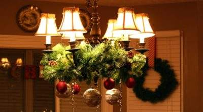 Anyone Can Decorate Creative Holiday Chandelier Ideas