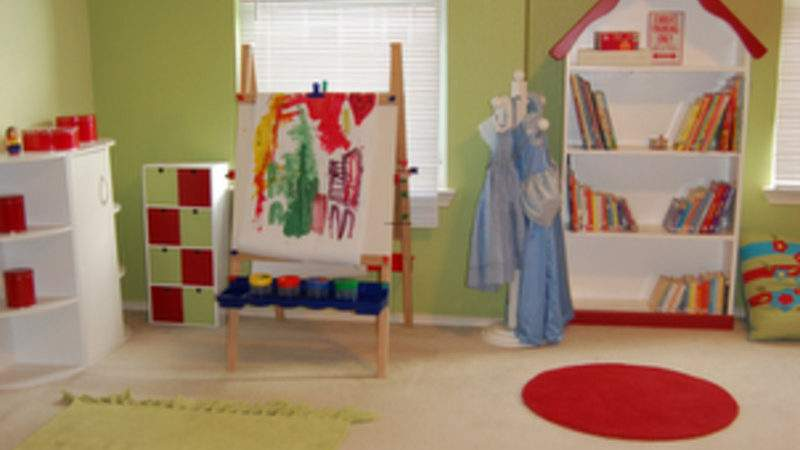 Appealing Interior Playroom Ideas Toddler