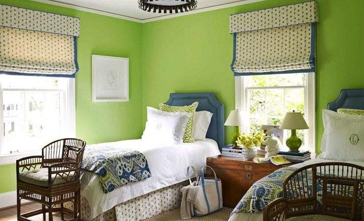 Apple Green Paint Design Ideas