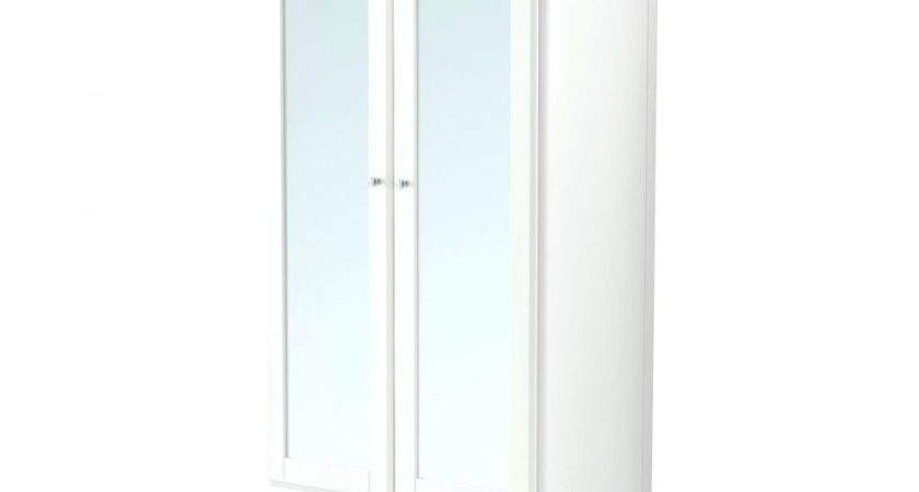 Armoire Cheap Wardrobes Closets Wardrobe White Mirror