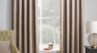 Array Blackout Lined Ready Made Pencil Pleat Curtains Matrix