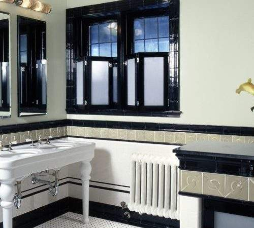 Art Deco Bathrooms Houzz