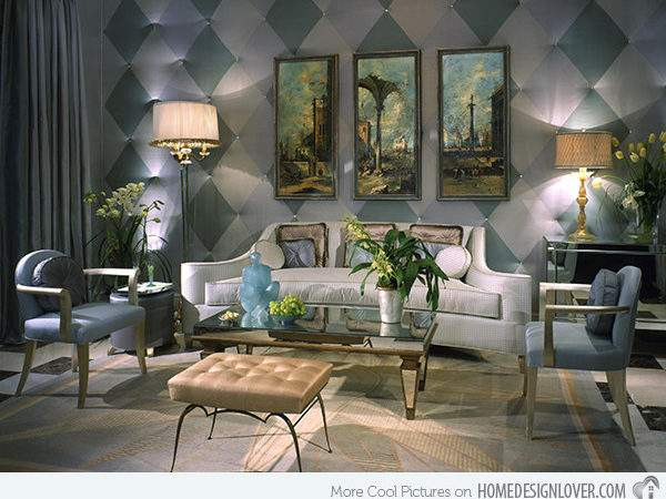 Art Deco Inspired Living Room Designs Decoration