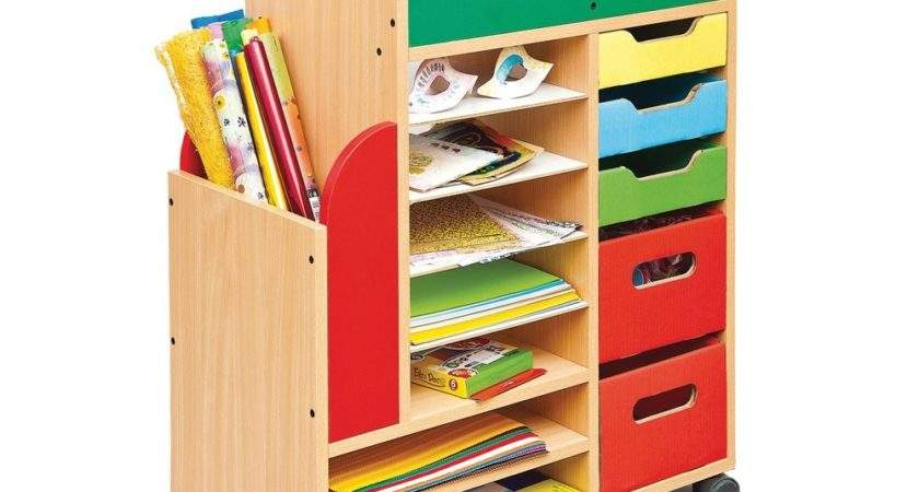 Art Storage Unit Early Years Resources