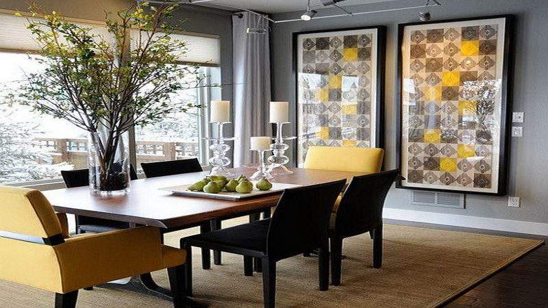 Attractive Decor Modern Dining Room Sets
