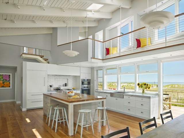 Avalon House Beach Style Kitchen Philadelphia