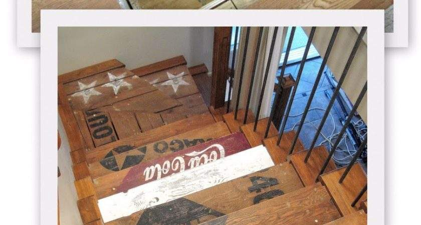 Award Winning Stairs One Project Closer Funky Junk
