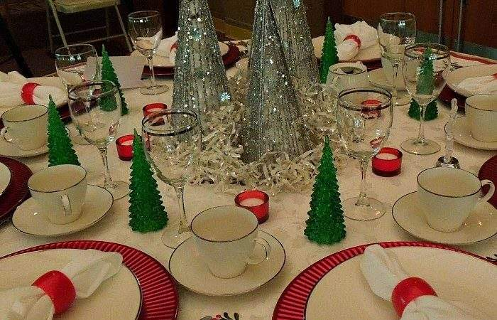 Awesome Christmas Table Settings Part