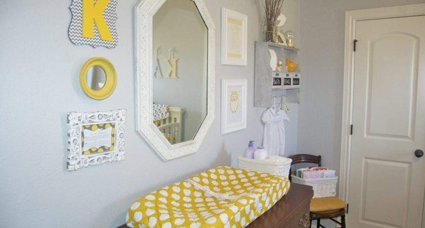 Baby Girl Gray Yellow Nursery Project