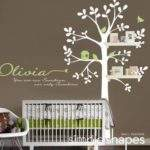Baby Nursery Decor Olivia Hanging Storage Wall