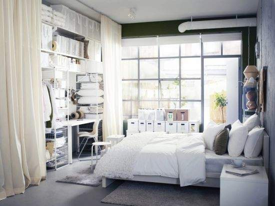 Back Small Bedrooms Storage Solutions Decoration