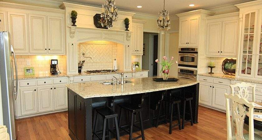Backsplash Cream Kitchen Cabinets