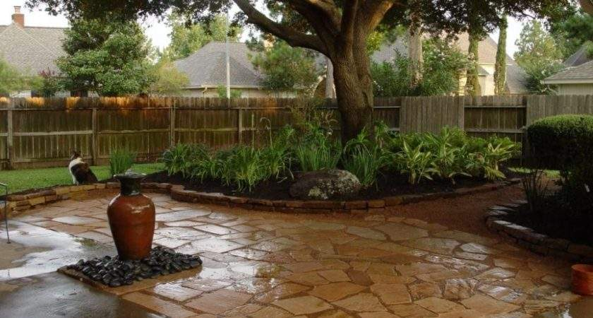 Backyard Landscaping Centered