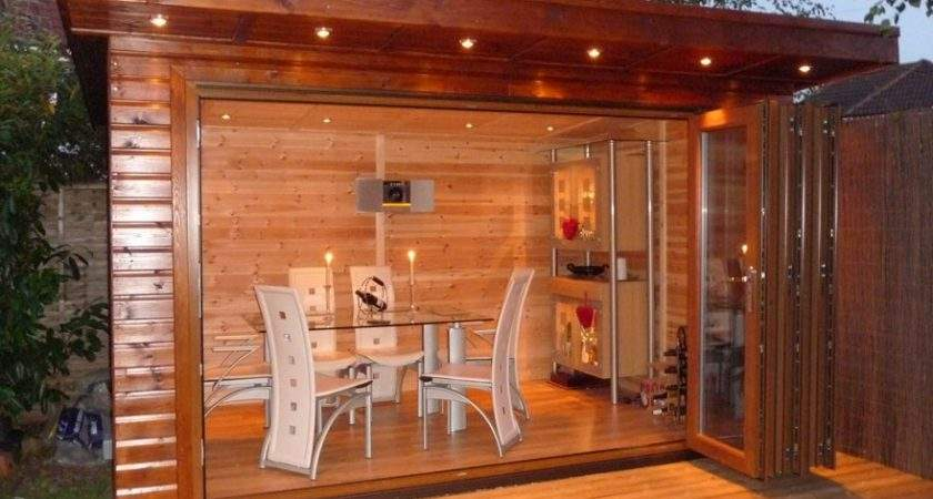 Bakers Timber Buildings Fold Executive Summer House