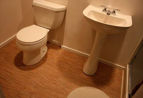 Bamboo Bathroom Floor Wood Floors