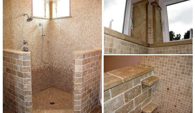 Bathroom Designs Travertine Tiles Home Decorating