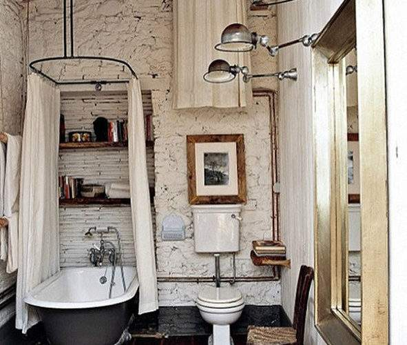 Bathroom Designs Vintage Industrial Charm Decoholic