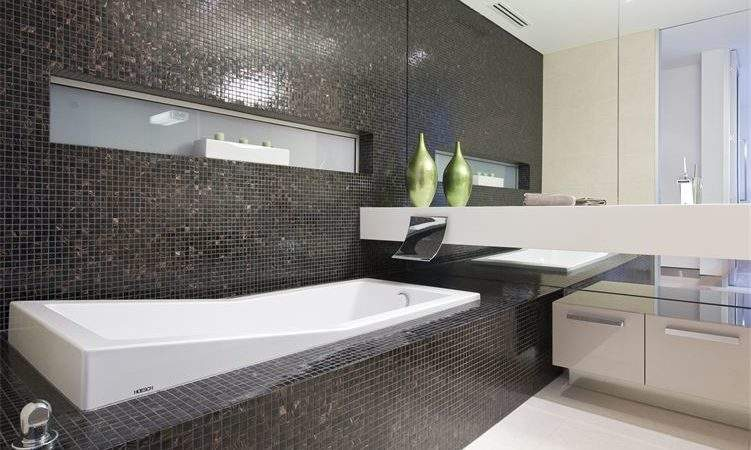 Bathroom Feature Wall Tiles Delux Tiling Living