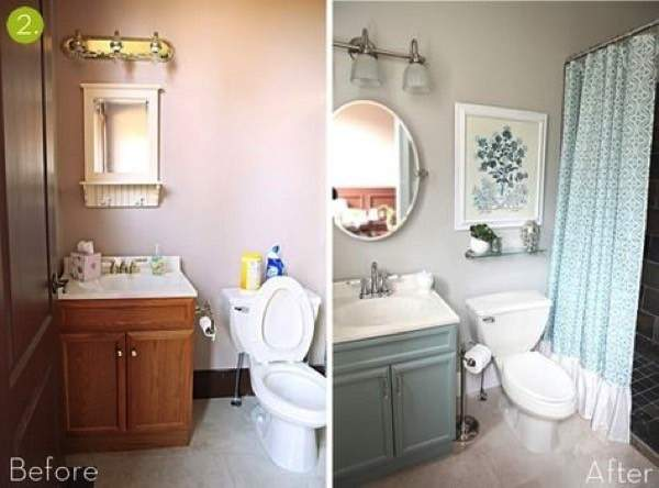 Bathroom Makeovers Before After Quick Simple