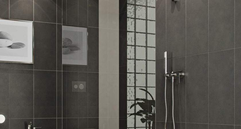 Bathroom Modern Style Glass Shower