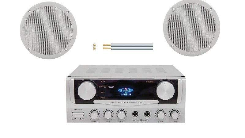 Bathroom Stereo Clock Radio