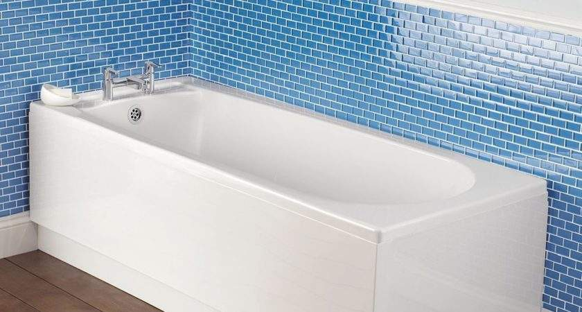 Bathroom White Acrylic Front Bath Panel Can
