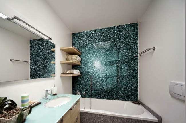 Bathroom Without Tiles Ideas Wall Design