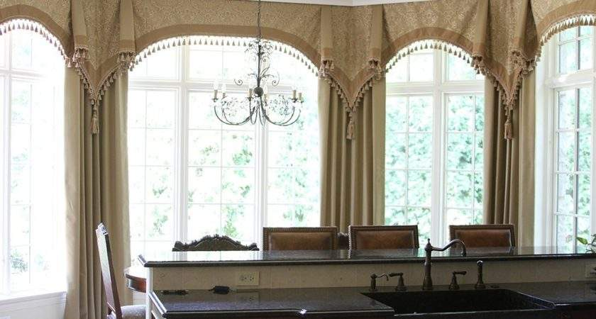 Bay Window Curtain Treatment Ideas Creative Mom