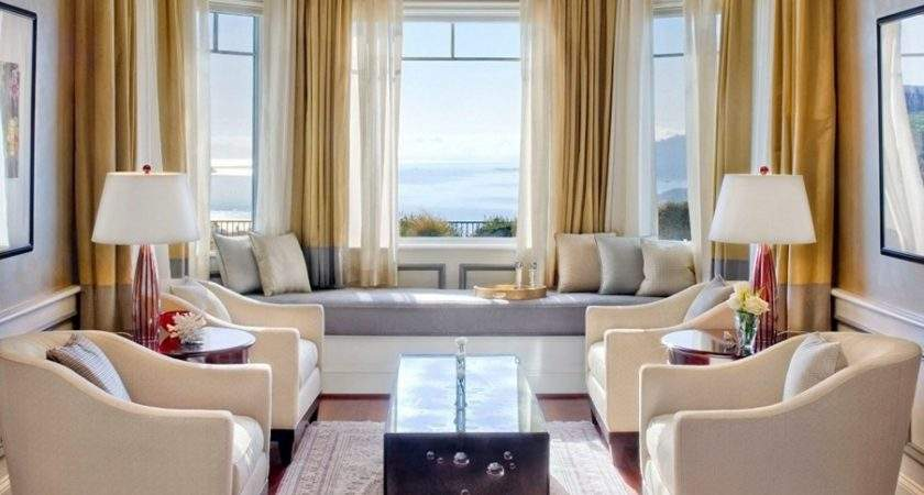 Bay Window Curtains Ideas Privacy Beauty